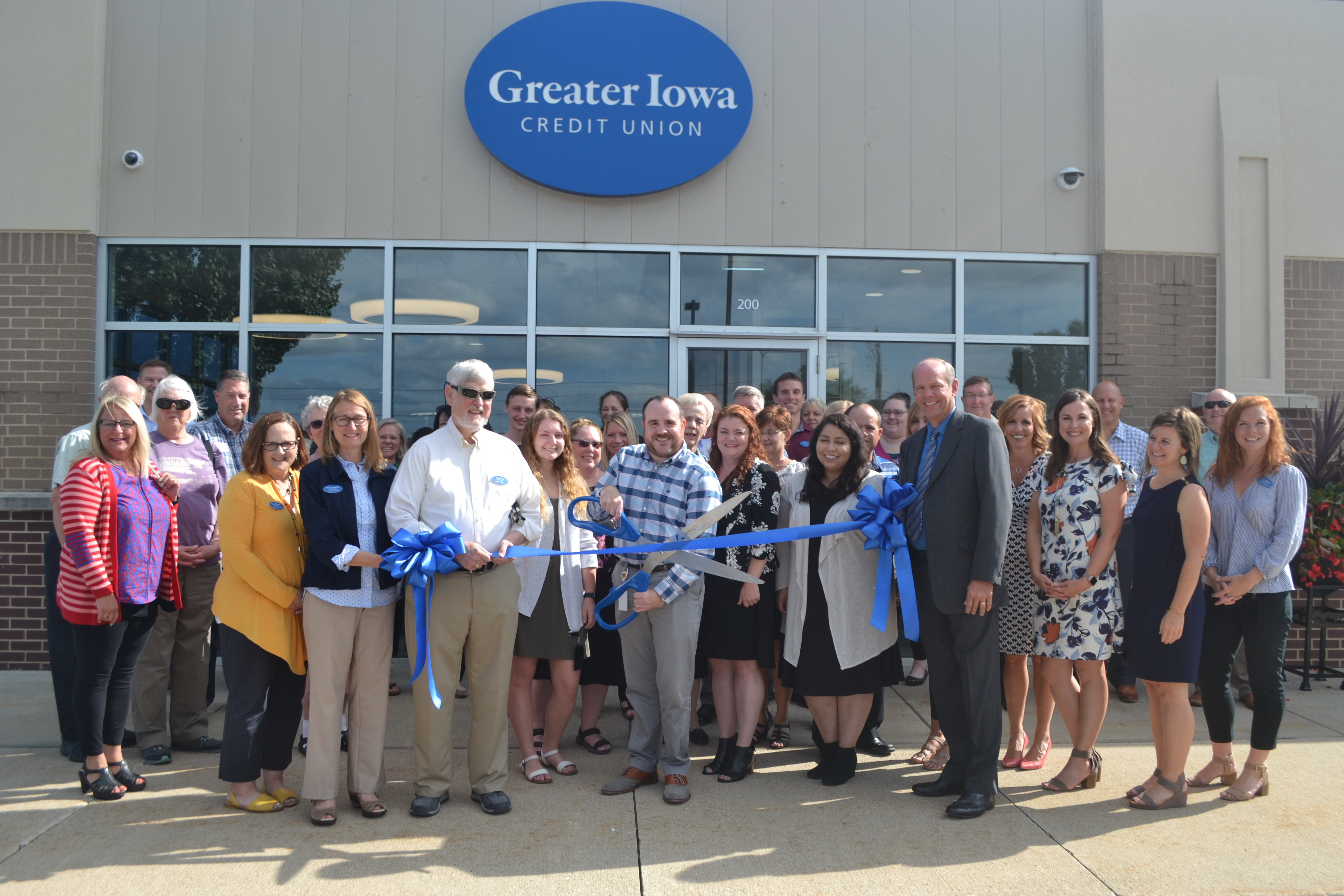 View post titled Ribbon Cutting Feature: Greater Iowa Credit Union